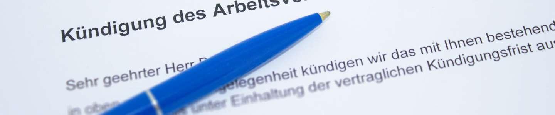 Kündigung, Kündigungsschutz, Kündigungsschutzklage, Kündigung anfechten, Rechtsanwalt Ludwigsburg, Anwalt Heilbronn, Rechtsanwalt heilbronn